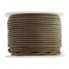 Leather Round Cord 1.5mm Khaki